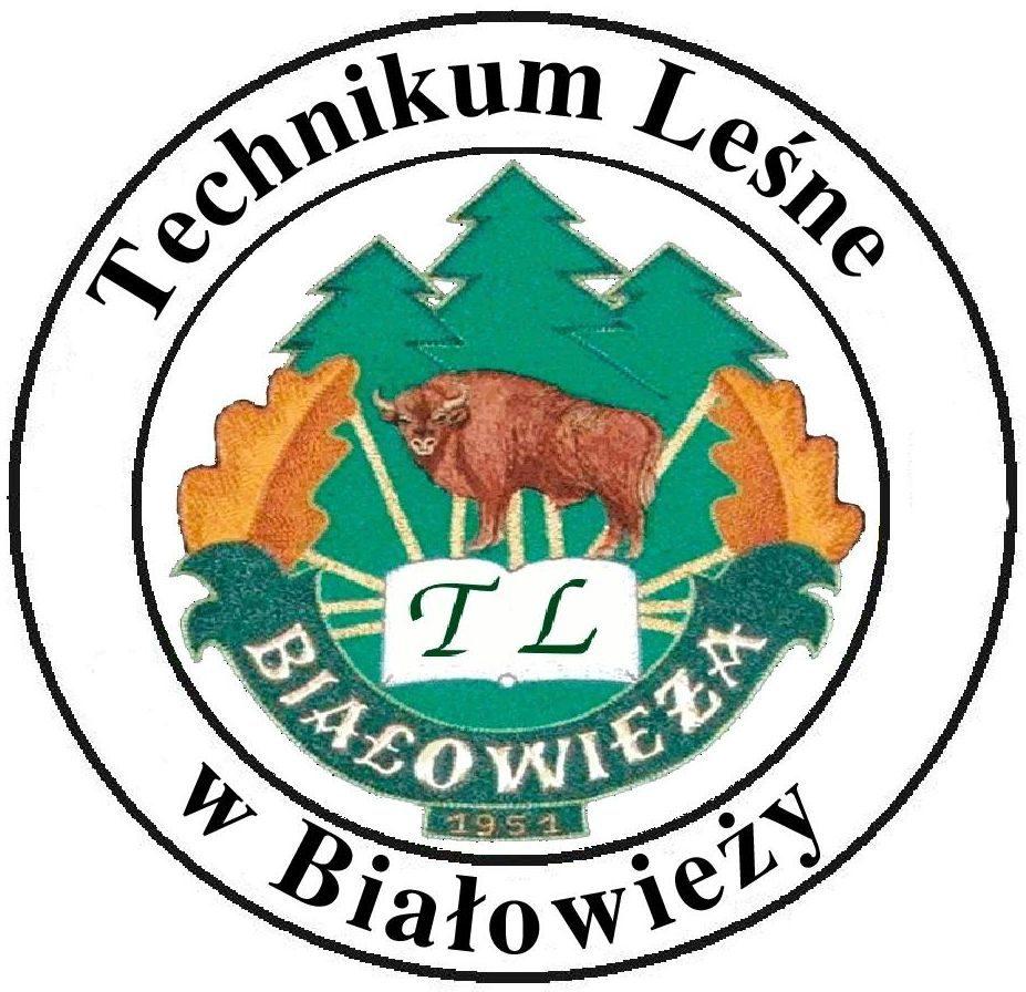 Logo Technikum Leśnego w Białowieży