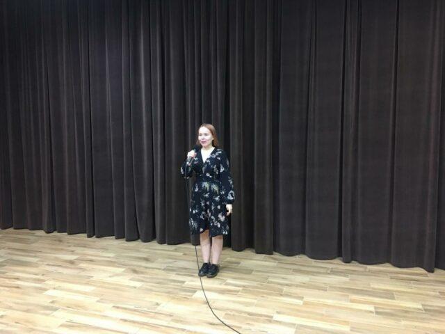 Małgorzata Sikorska na scenie
